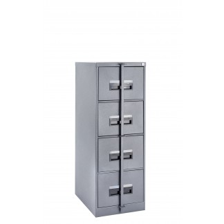 4 Drawer Heavy Duty Security Steel Cabinets