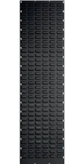 Black Louvre Panel 1800 x 450mm-Picking Capacity of 68