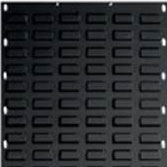Black Louvre Panel 450 x 450mm-Picking Capacity of 16