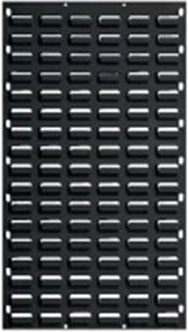 Black Louvre Panel 900 x 450mm-Picking Capacity of 32