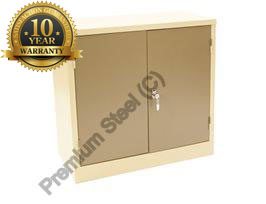 Heavy Duty Stationery Cupboard with 2 Shelves