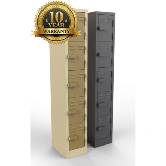 5 Doors Heavy Duty Steel Lockers