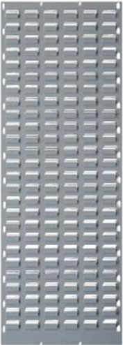 Hammer Tone Grey Louvre Panel 1400 x 500mm-Picking Capacity of 52