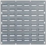 Hammer Tone Grey Louvre Panel 500 x 500mm-Picking Capacity of 16