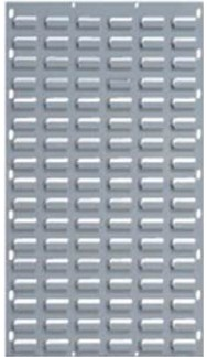 Hammer Tone Grey Louvre Panel 900 x 500mm-Picking Capacity of 32