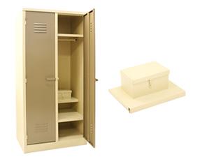 2 Doors Heavy Duty Hostel Lockers