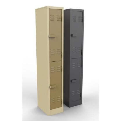 2 Doors Heavy Duty Steel Lockers