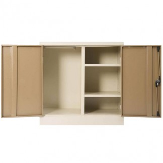 Heavy Duty Steel Mini Wardrobe