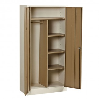 Heavy Duty Steel Gents Wardrobe