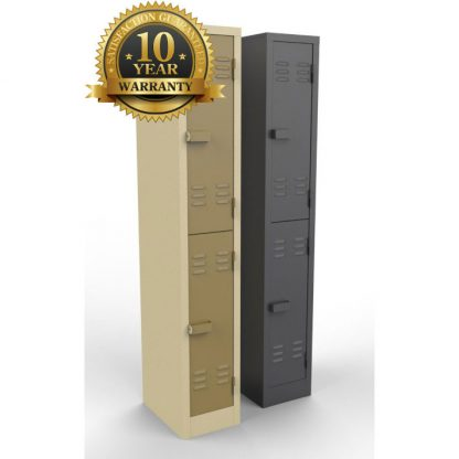 2 Doors Heavy Duty Steel Lockers