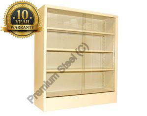 Heavy Duty Sliding Door Steel Bookcase