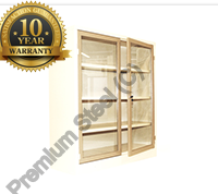 Heavy Duty Hinge Door Steel Bookcases