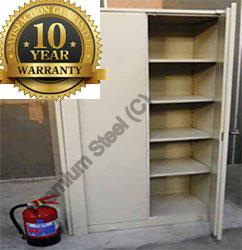 Heavy Duty Fireproof Cupboard in Ivory Only