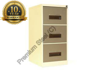 3 Drawer Heavy Duty Steel Cabinets