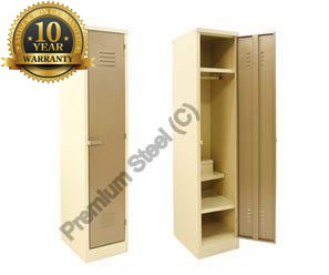1 Door Heavy Duty Hostel Lockers