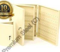 Heavy Duty 25 Key Safe Cabinet Ivory Only