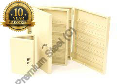 Heavy Duty 50 Key Safe Cabinet Ivory Only