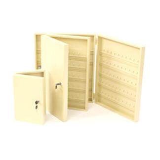 Heavy Duty 25 Key Safe Cabinet Ivory Only