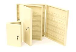 Heavy Duty 50 Key Safe Cabinet Ivory Only