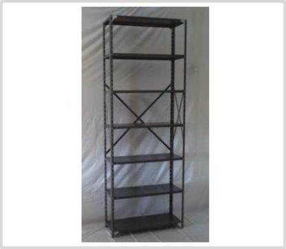 Heavy Duty Open 7 Shelves Freestanding Bolted Steel Shelving-Hammer tone Grey only