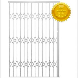 Alu-Glide Security Gate- 2200mm-White