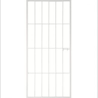 Best seller- Type 1-Security Gate(Shoot bolt) 1950mm(H)x770mm(W) -White.