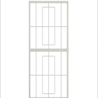 Heavy Duty Homestyle Lockable Security Gate-White.