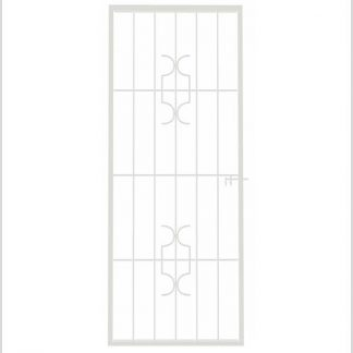Heavy Duty Homestyle Shootbolt Security Gate-White.