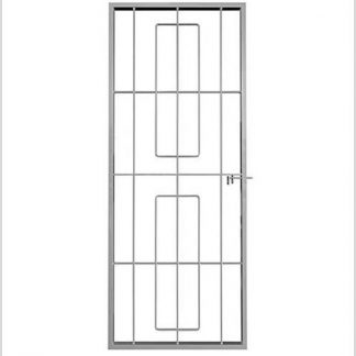 Heavy Duty Ref 34 Shootbolt Security Gate-Grey.