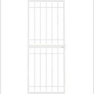 Heavy Duty Supagate Lockable Security Gate-White.