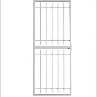 Heavy Duty Supagate Lockable Security Gate-Grey.