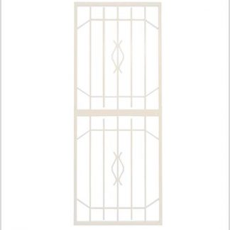 Heavy Duty Trendi-Gate Lockable Security Gate-White.