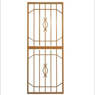 Type 8 Security Gate (Lockable) 1950mm(H) x 770mm(W)-Bronze.