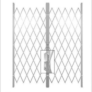 Track Free Swing Slamlock Double Gates-2.6m(W)-3.2m(W)2m(H)-White.