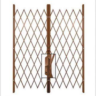 Track Free Swing Slamlock Double Gates-2.2m(W)-2.6m(W)2m(H)-Bronze.