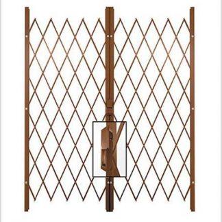 Track Free Swing Slamlock Double Gates-2.6m(W)-3.2m(W)2m(H)-Bronze.