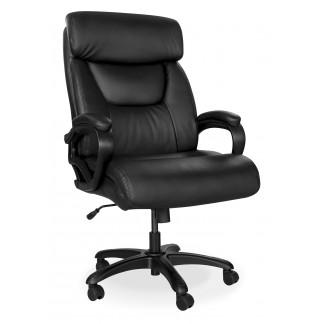 Heavy duty King Cobra leather office chair.